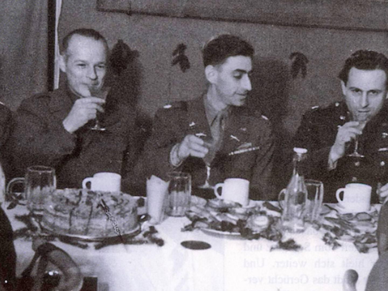 Farewell Dinner zur Schließung des Landsberger DP-Camps.