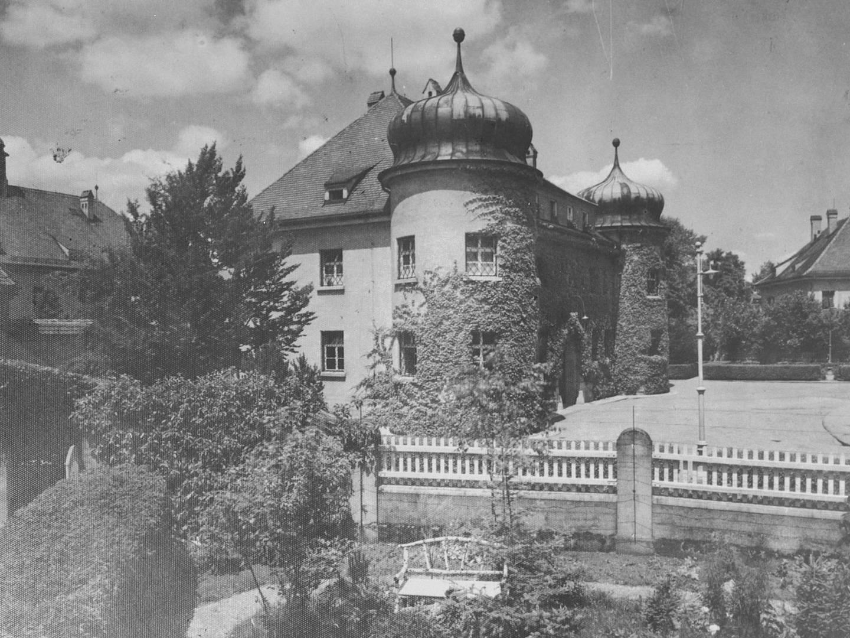 War Criminal Prison No.1 der US-Armee für deutsche Kriegsverbrecher.