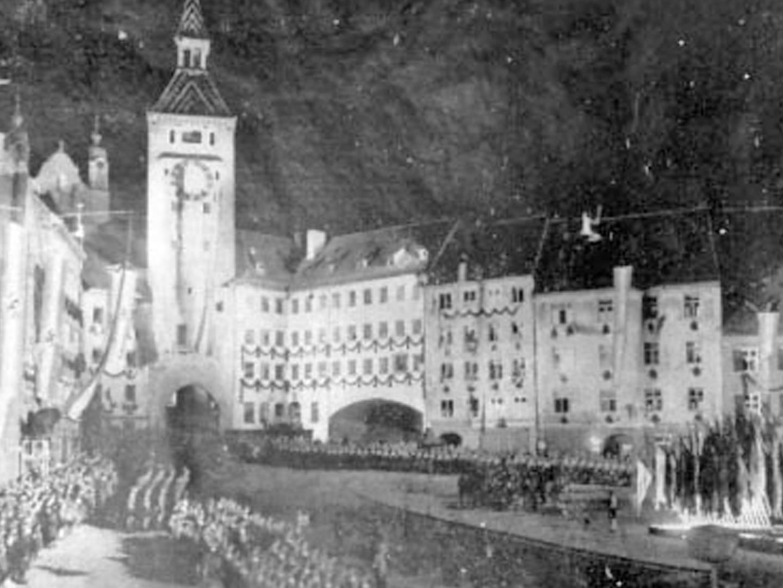 Landsberg als zentrale Stätte des Nationalsozialismus und
