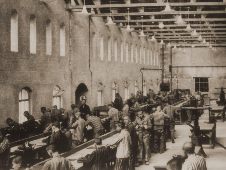 Zwangsarbeiter des KZ-Außenlagers Bobrek produzierten Flugzeugteile.