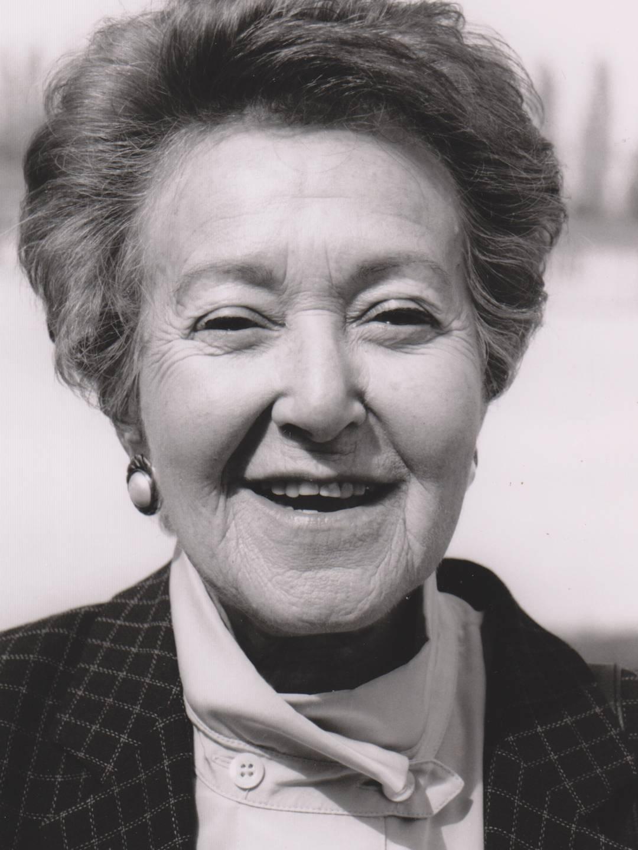 Channa Birnfeld wurde 1945 auf einem Todesmarsch in Buchberg befreit.