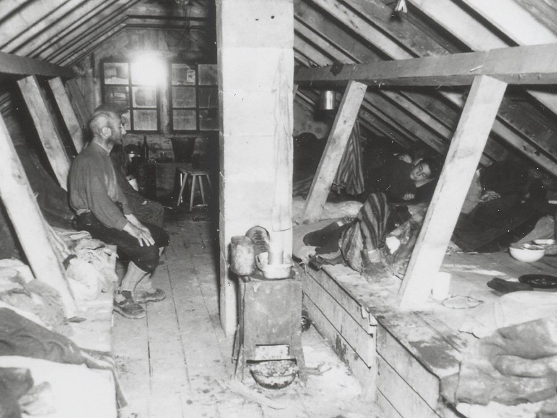 Schlechte Bedingungen in den KZ-Lagern Kaufering.