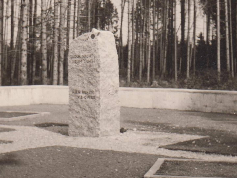 KZ-Friedhof Stoffersberg-Wald.
