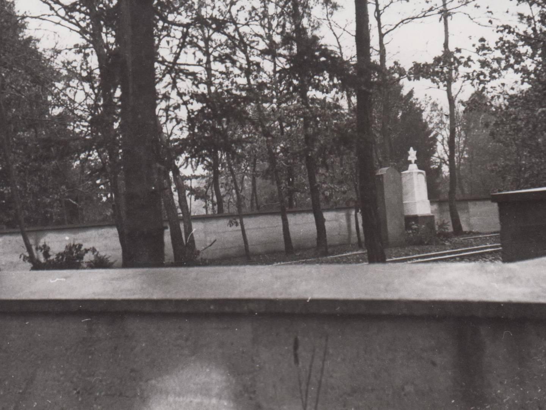 KZ-Friedhof in Utting 1950.