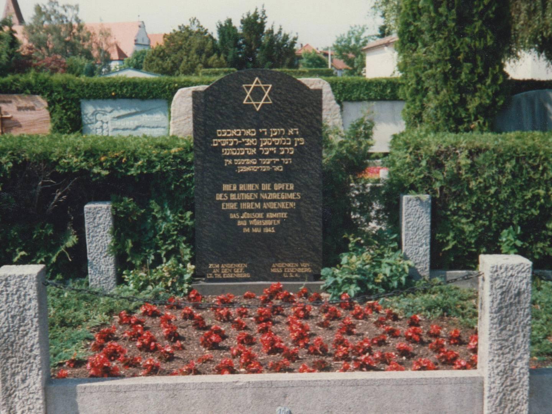 Im DP-Hospital Sonnenhof in Bad Wörishofen verstorbene ehemalige KZ-Häftlinge wurden auf dem Friedhof bestattet.