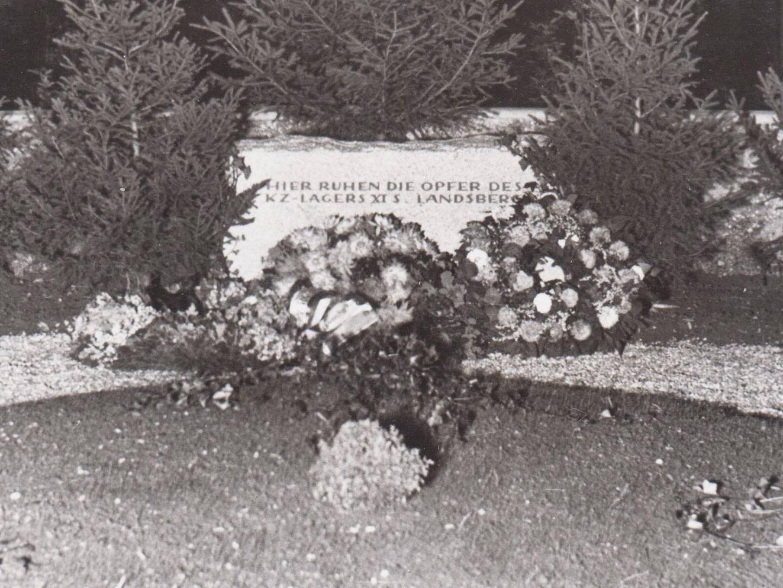 Aufnahme des KZ-Friedhofs Stoffersberg Süd.