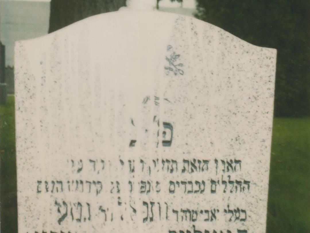 Verschandelung von Teilen des KZ-Friedhofs in Landsberg am Lech.