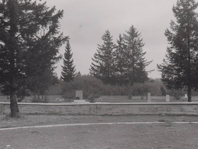 Der KZ-Friedhof wurde 1950 fertiggestellt.