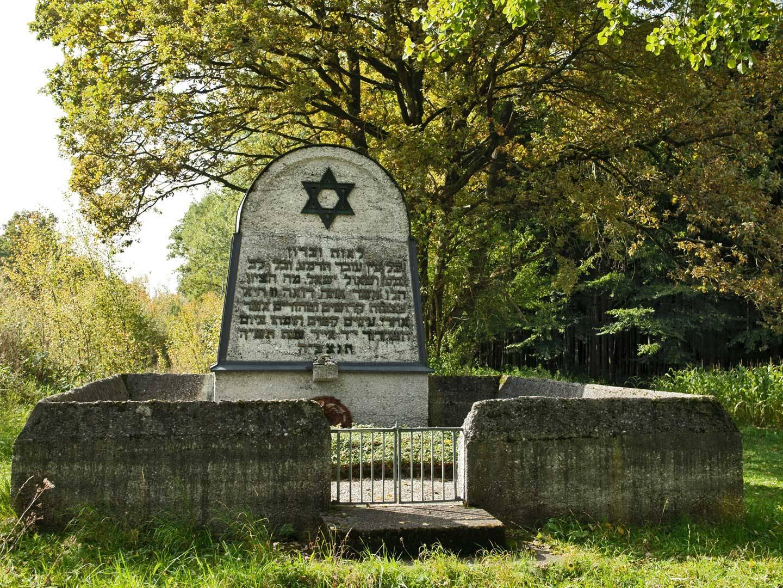KZ-Friedhof in Schwabhausen.