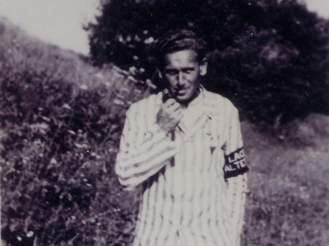 Viktor Nečas war Lagerältester des KZ-Lagers Kaufering III.