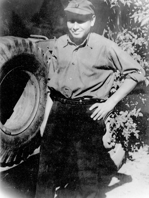 KZ-Überlebender Israel I. Cohen aus Polen.