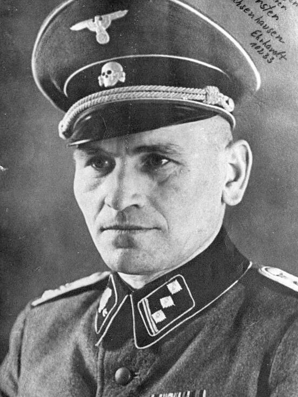 Heinrich Georg Forster, 1944 zu Arreststrafe verurteilt.