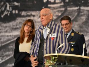 Zeremonie von Stiftung Bayerische Gedenkstätten und Bayerischem Landtag zum Gedenken an Opfer des Nationalsozialismus.