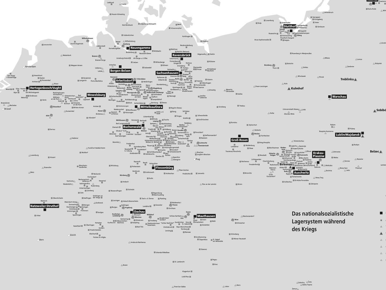 Europaweites Netz aus über 500 KZ-Außenlagern ab 1945.