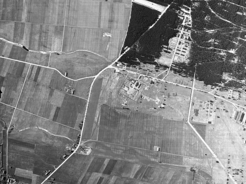 KZ-Lager Kaufering I war in Männer- und Frauenlager geteilt.