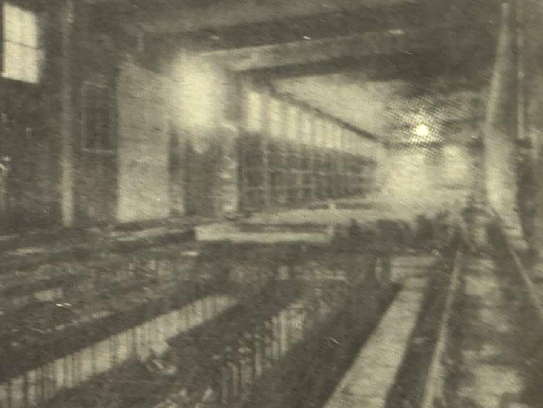 Im Werk der Firme Dyckerhoff & Widmann arbeiteten KZ-Häftlinge des KZ-Lagers Kaufering X in